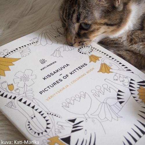 Oman Varityskirjan Kissat Edustavat Kati Marikan Sisaista Kissaa Varityskirjat Kissa Kuvat