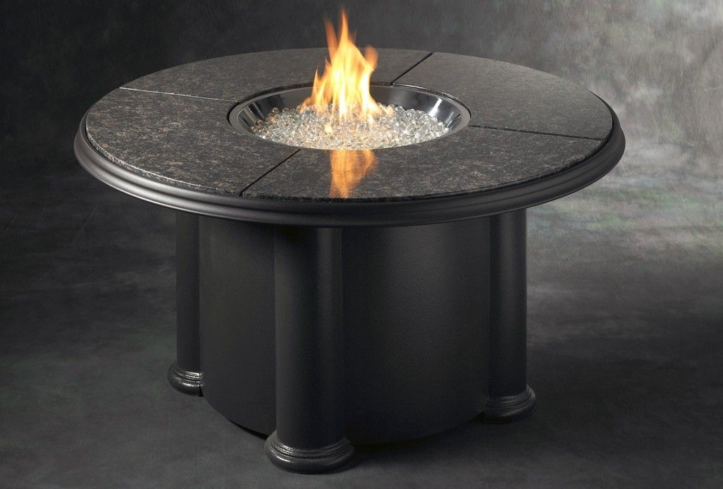 Granite firetable with images granite fire pit gas