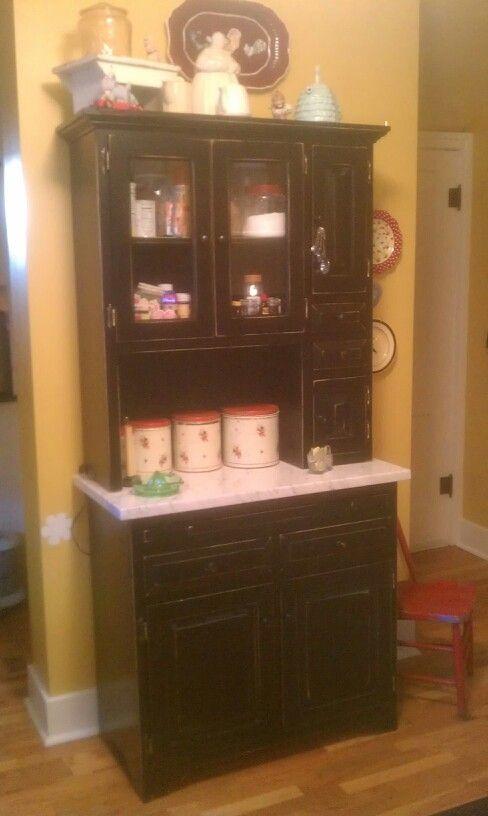 My Kitchen Baking Cabinet.