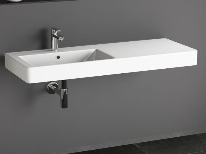 Weißes keramisches Wand Handwaschbecken Made in Italy