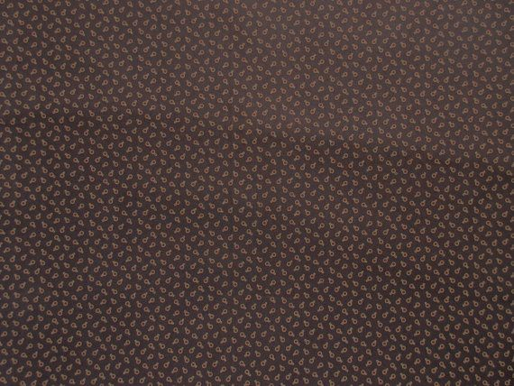 Brown Calico Fabric  Jo Morton for Andover by SewMeNowFabrics