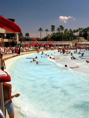Wave pool at mandalay bay by dnkbdotcom on flickr vegas - Whitefish bay pool open swim hours ...