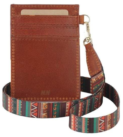 Most Wanted Design by Carlos Souza ID Card Holder with Detachable Strap #nordstromrack