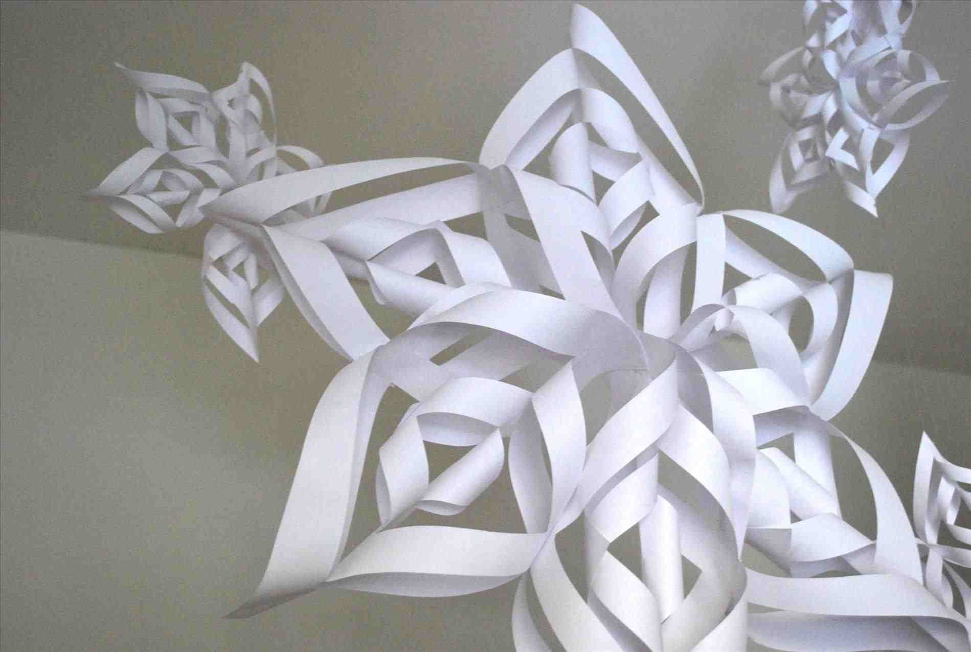 How to Make a 3D Paper Snowflake How to Make a 3D Paper Snowflake new images
