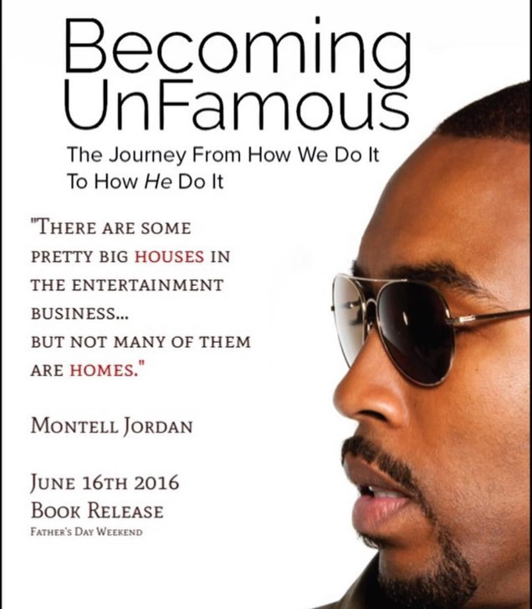 #MontellJordan will release his book #BecomingUnfamous on June 16 IceCreamConvos.com
