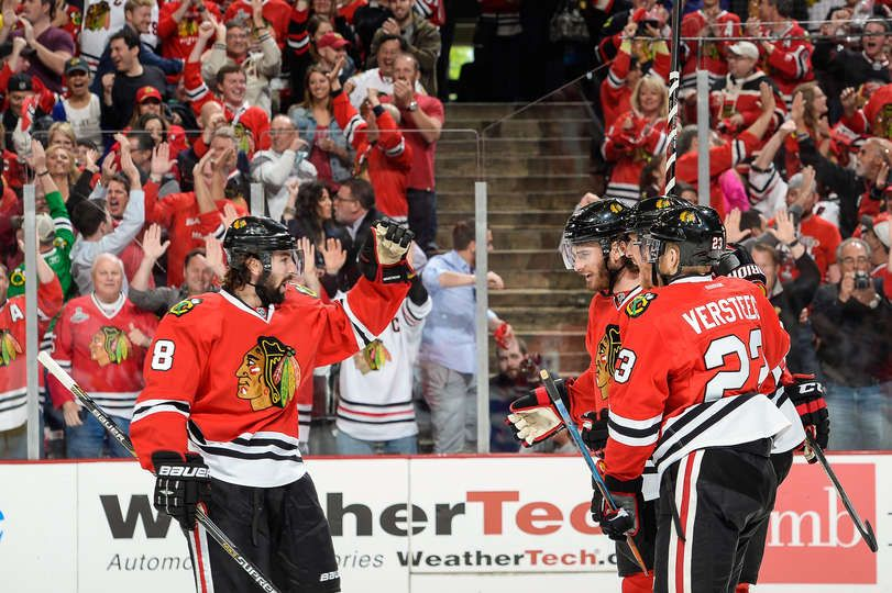 Holler. 5/18/14 Hawks win Game 1 of the Western Conference Finals vs. Kings 3-1