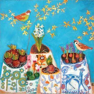 Vanessa Cooper I Bird Art Whimsical Art Art