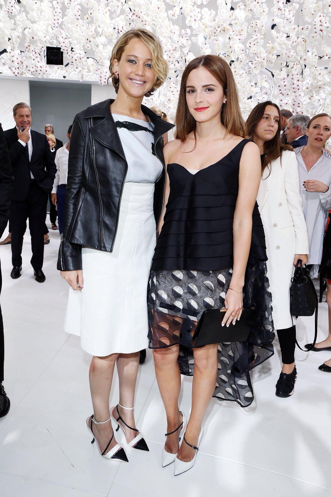 Jennifer Lawrence And Emma Watson Fashion Emma Watson Celebs