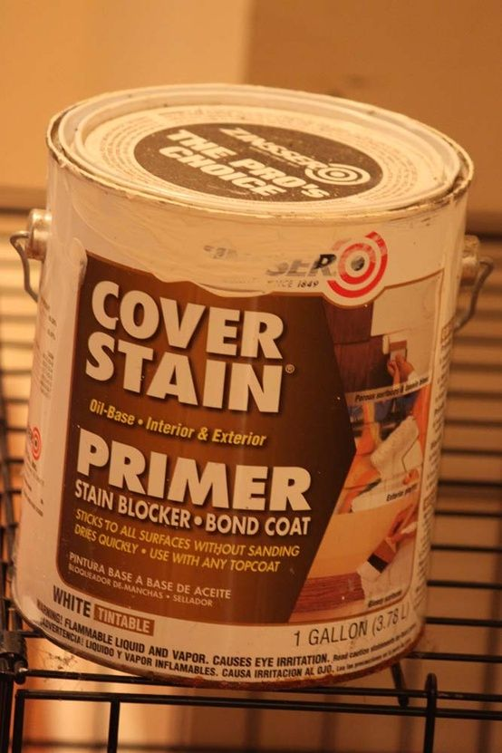 It Is An Oil Based Primer By Zinsser I Found At Lowes That Sticks To All Surfaces Without Sanding And Without Stripping Because You Can T Stri Life Kitchen Furniture Diy