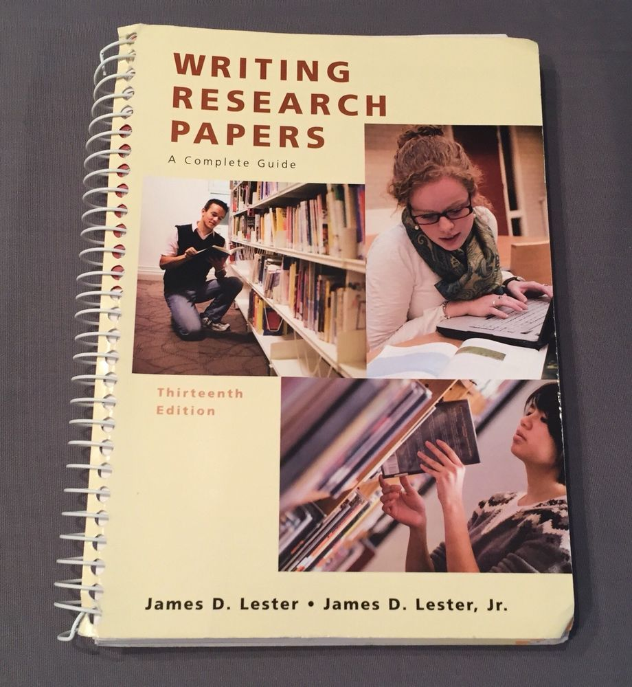 Writing Research Papers (Spiral) (13th Edition) (MyCompLab Series)   eBay