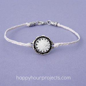 Elegant Ankle Bracelet | AllFreeJewelryMaking.com