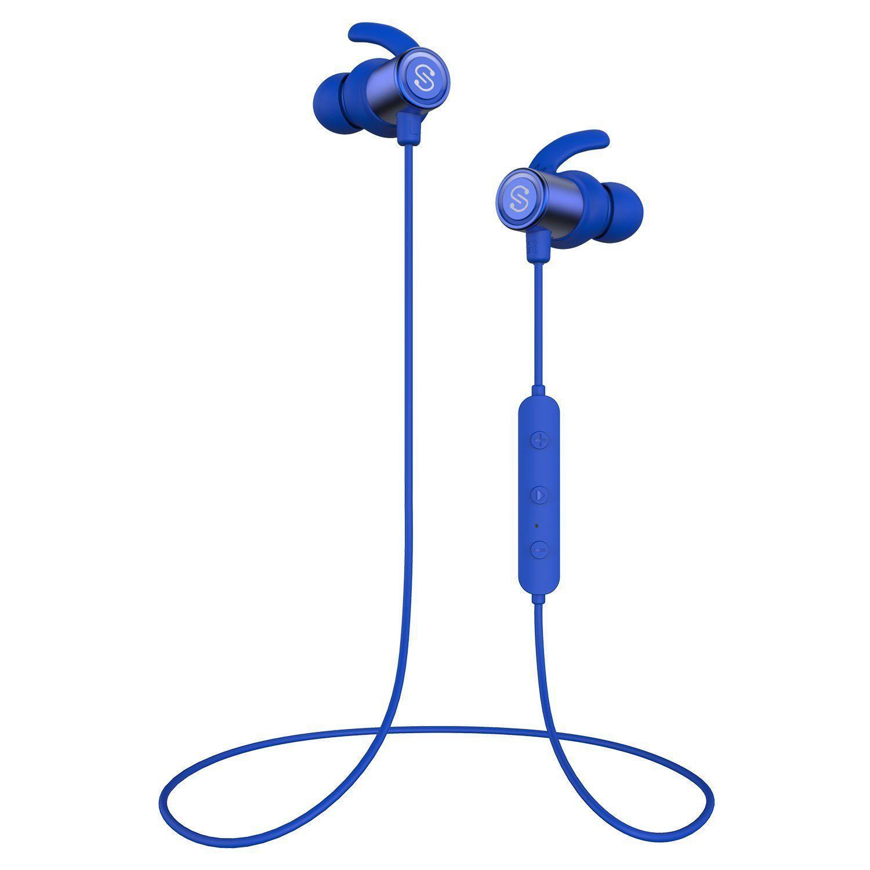 5f1bb69cb08 Amazon.com: SoundPEATS Magnetic Wireless Earbuds Bluetooth Headphones Sport  In-Ear Sweatproof Earphones with Mic (Super sound quality, IPX6, Bluetooth  4.1, ...