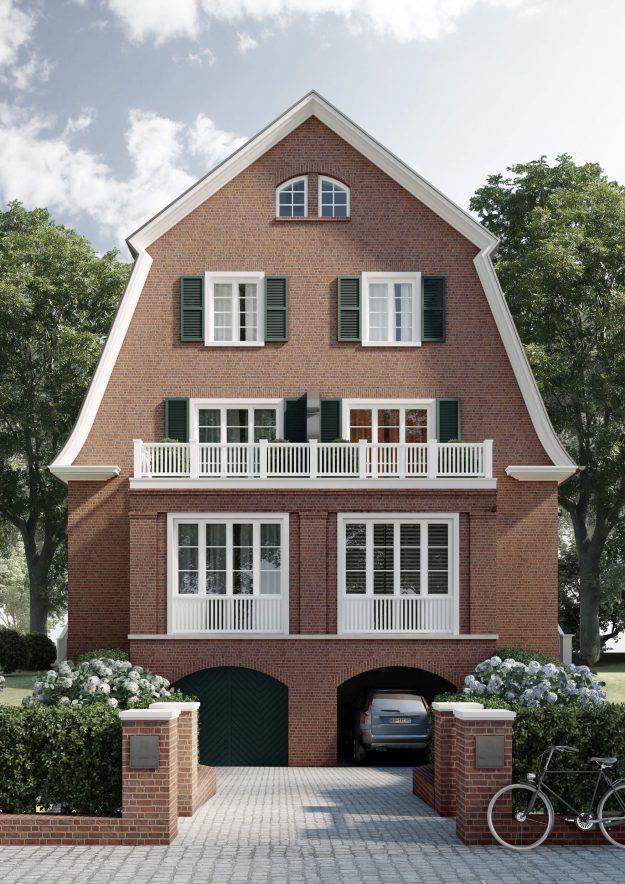 Die Häuser von Nienstedten Haus, Hauswand, Haus architektur