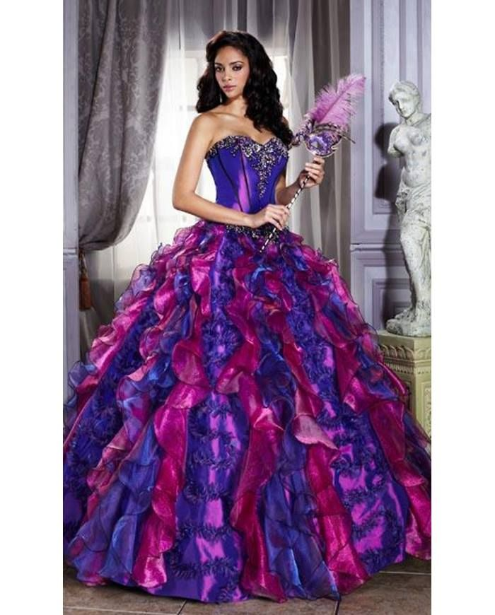 Lujo Alquilar Vestidos De Fiesta En Atlanta Festooning - Vestido de ...