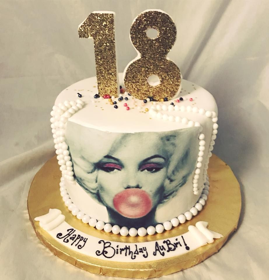 Magnificent Marilyn Monroe 18Th Birthday Cake Creativecakesbykeekee Com With Funny Birthday Cards Online Alyptdamsfinfo