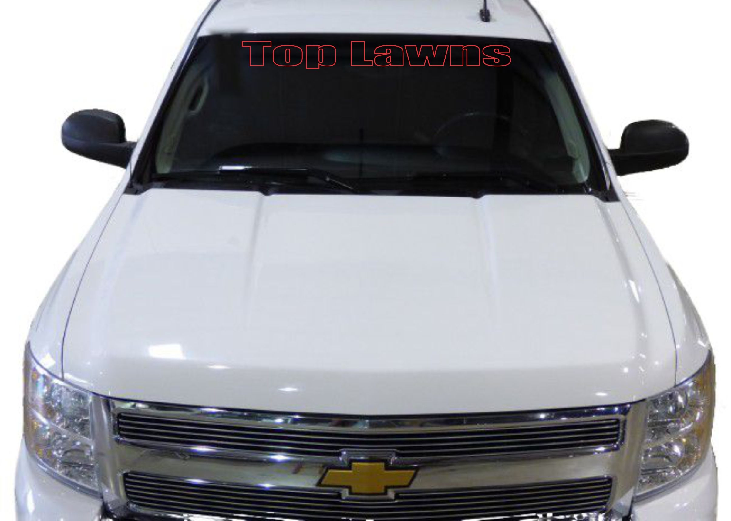 Thanks Top Lawns For Your Vinyl Decal Order Advertise Your - Custom truck decals vinyls