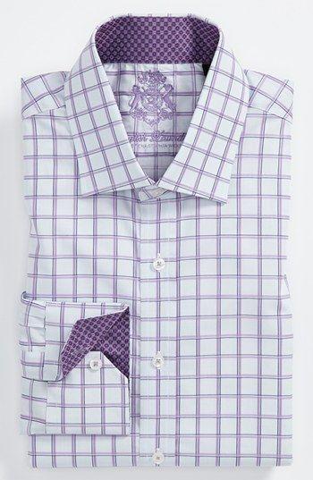 English Laundry Trim Fit Dress Shirt Shirts Fitted Dress Shirts Mens Shirts