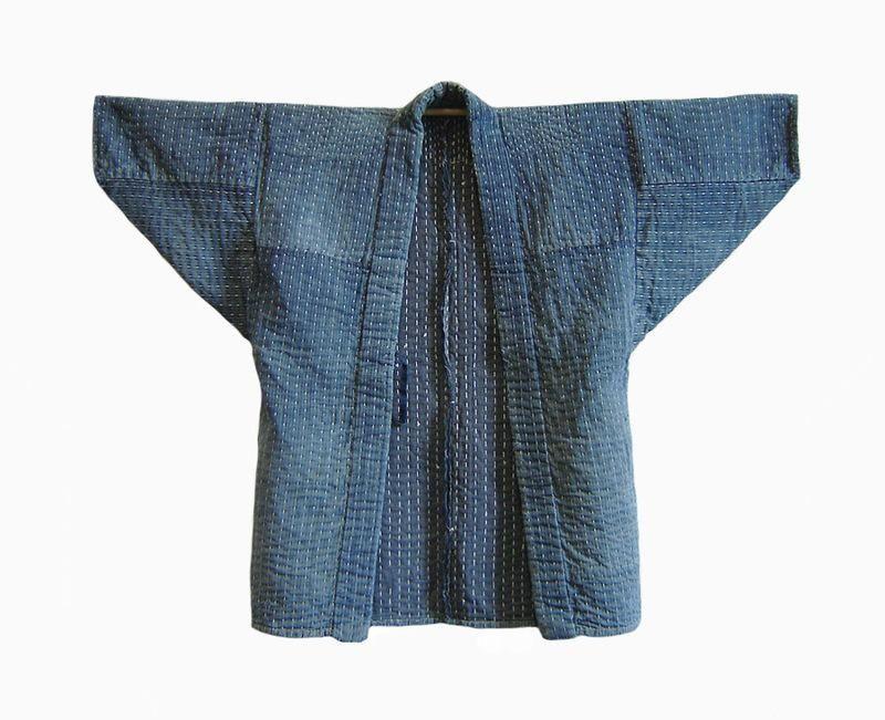 sashiko noragi | Stitching images of shibori | Pinterest | Nähen ...