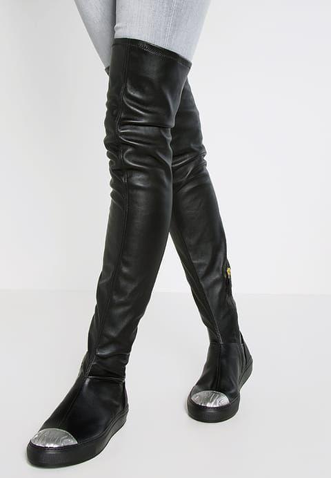 MIMOSA - Stivali sopra il ginocchio - black - Zalando.it