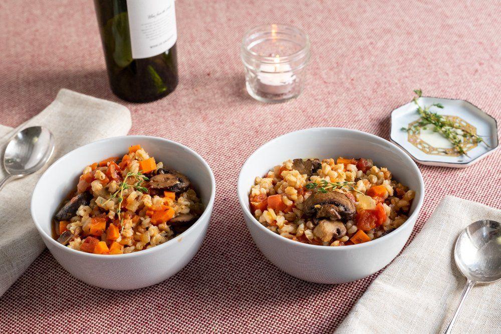Mushroom Barley Stew in 2020 Mushroom barley stew