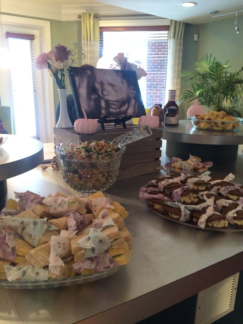 baby shower food table my pinterest worthy moments pinterest