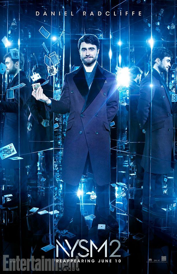 See Daniel Radcliffe In Exclusive Now You See Me 2 Character