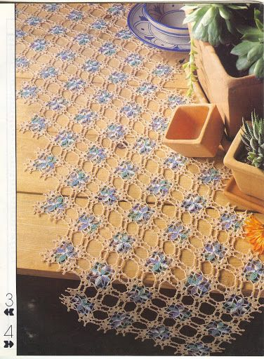 Crochet Knitting Handicraft: Puntorama Ganchillo Nro 161 Enero 1993