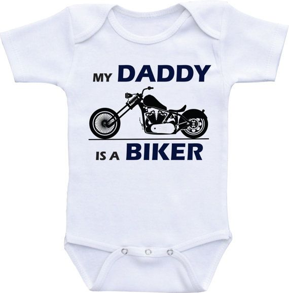 Born to Go Cycling with My Daddy Girls Gift New Baby Vests Bodysuits for Boys