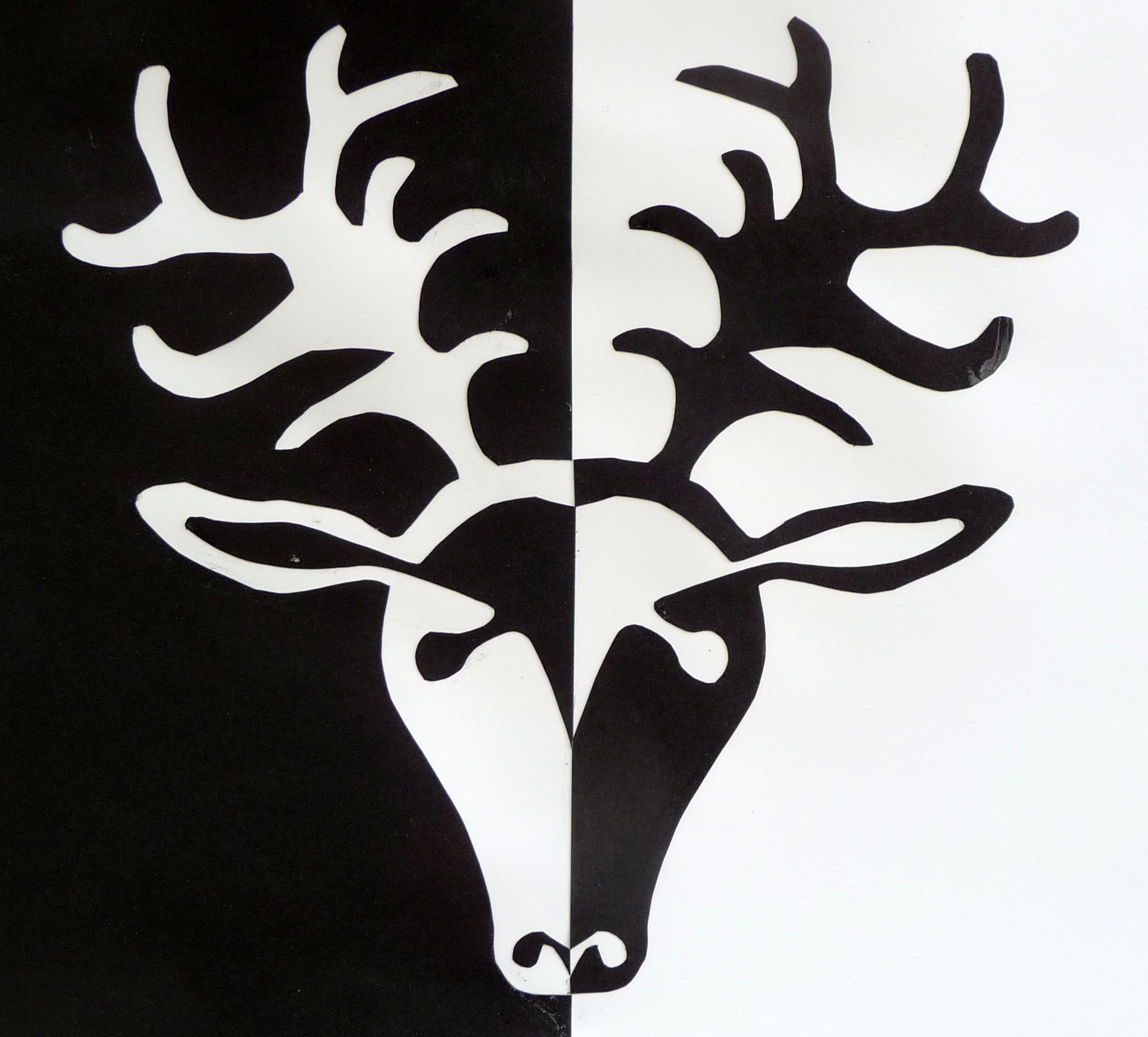 Positive Negative Deer1 Kuva