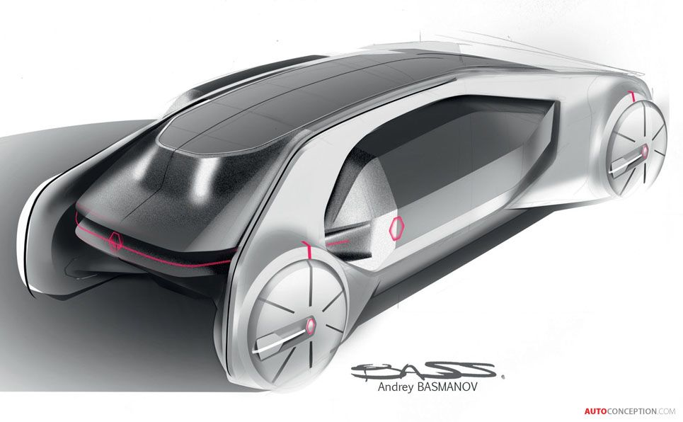 ez go 2000 honda civic ex wiring diagram renault concept car envisions what a future taxi might look like