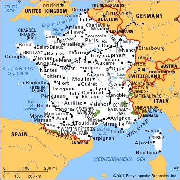 The Map Of France With The City.Thionville Map France In 2019 France Map France City France Travel