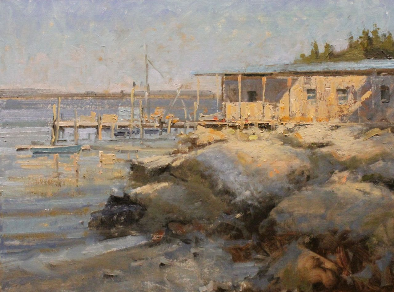 Calm before the storm seascape paintings landscape