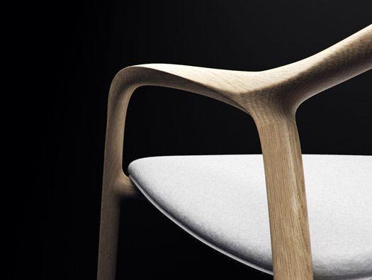 Chaise En Bois Chair By Simon Reynaud Chaises Bois Chaise Bois Design Bois