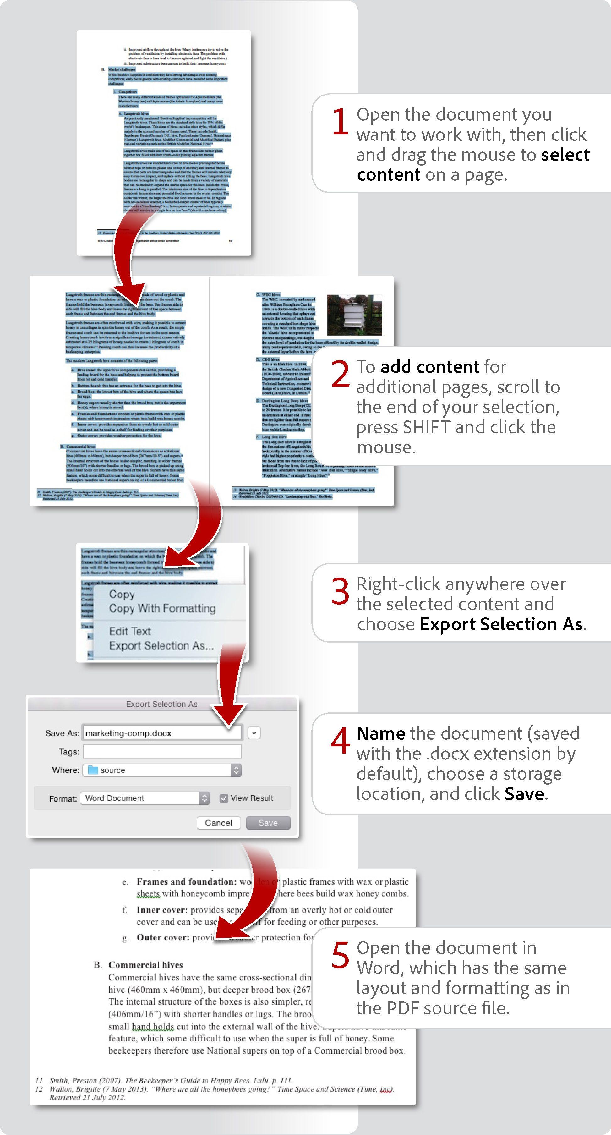 How To Convert Pdf To Word Pdf To Word Converter How To Convert Pdf To Excel Adobe Acrobat Acrobatics Pdf Adobe Acrobat