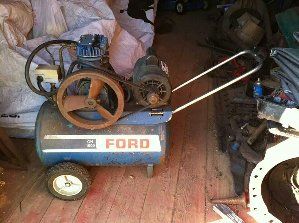 FORD CH1000 AIR COMPRESSOR Ford tractors, Old tractors