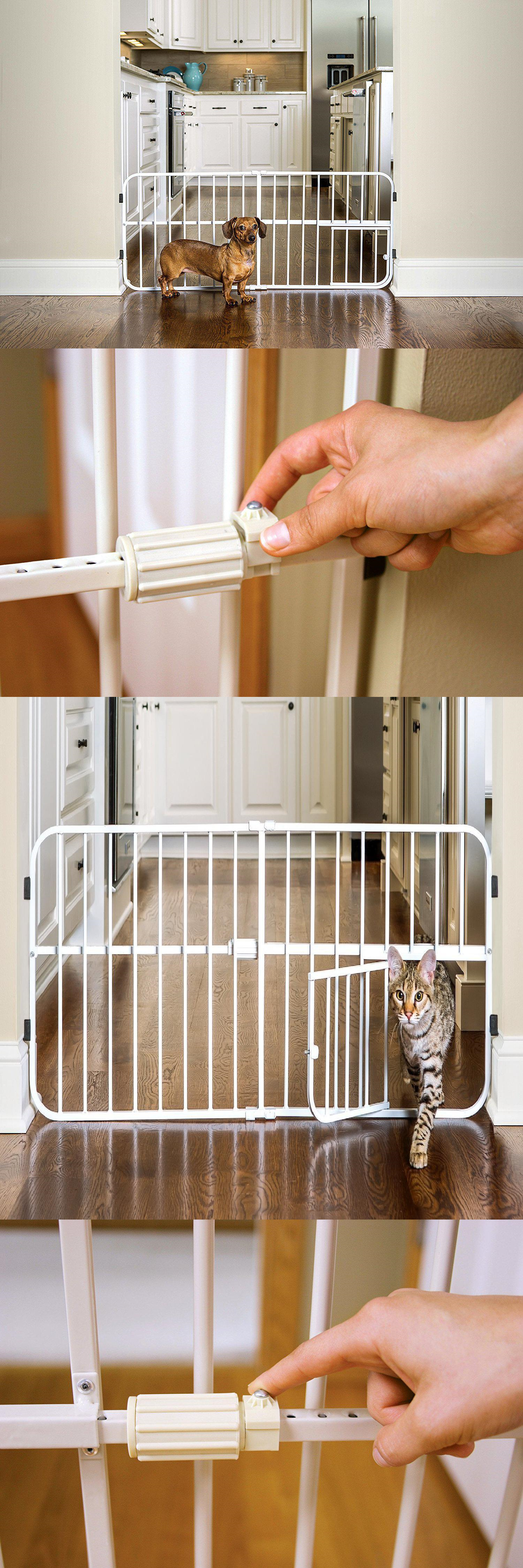 Fences and Exercise Pens Expandable Baby Gate Small Pet