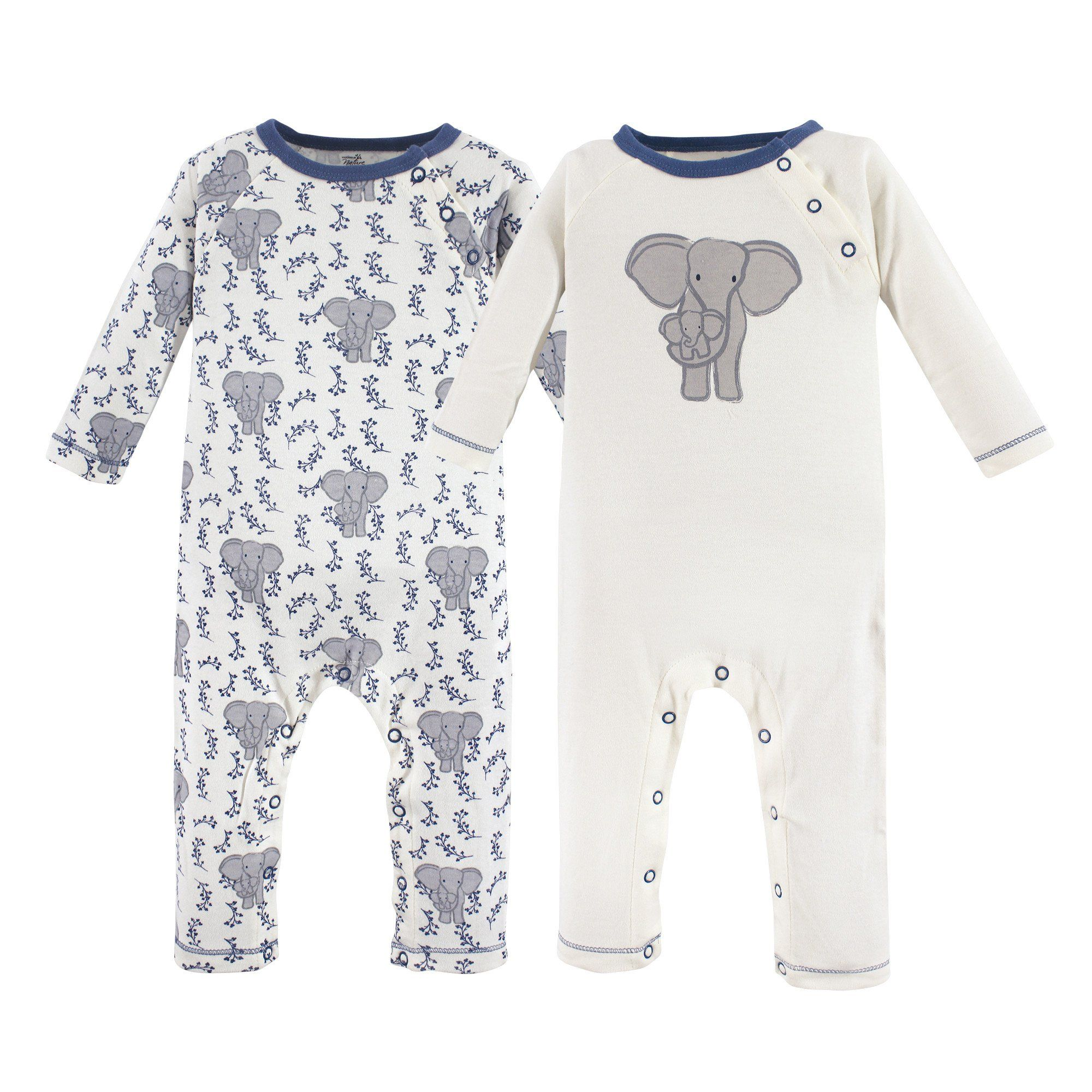 Touched by Nature Baby Organic Cotton Coveralls and Union Suits