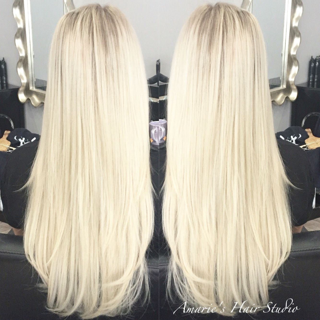 Bright Blonde Bombshell Hair Extensions Blonde Ambition