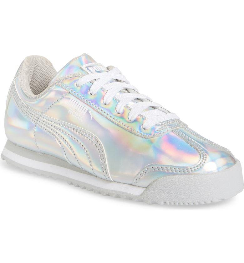 puma iridescent sneakers