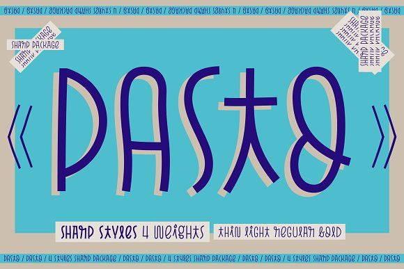 Download Pasto Sharp Package | Best free script fonts, Free script ...