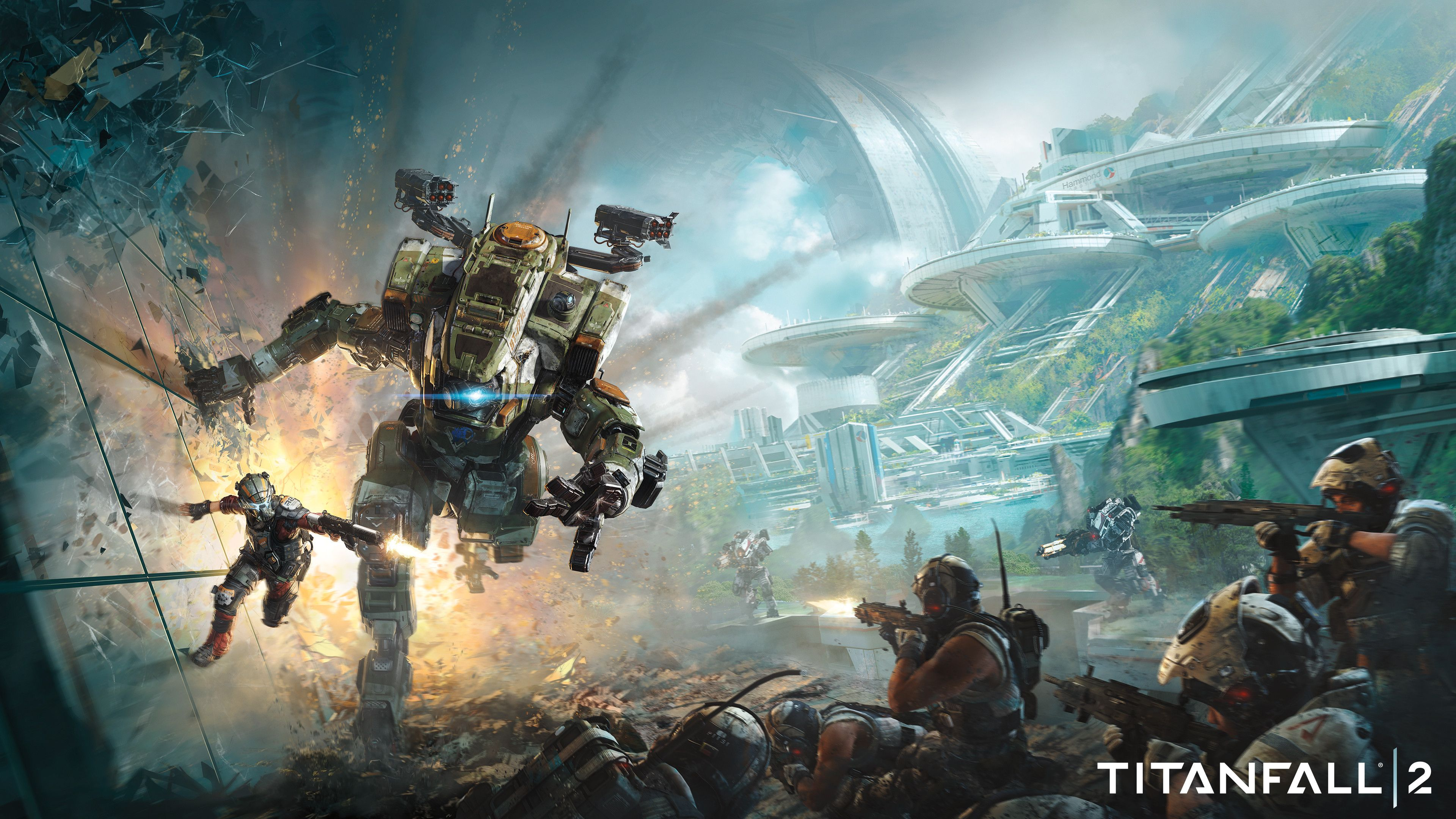 Titanfall 2 4k 2016 Titanfall 2 Wallpapers Games Wallpapers 4k Wallpapers 2016 Games Wallpapers Titanfall Pc Games Wallpapers Xbox One Games