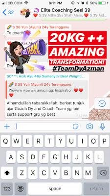 Projek Kurus 25 Hari Coach Dy Azman Kuruskan Badan Dengan Mudah Turunkan Berat Badan Dengan Cepat Diet Seca Amazing Transformations Ideal Weight Elite Coach