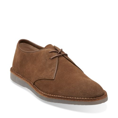 Darning Walk Brown Suede - Men's Oxfords and Lace Up Shoes - Clarks