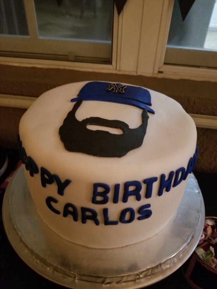 Beard cake 27th birthday cake beard cake cake