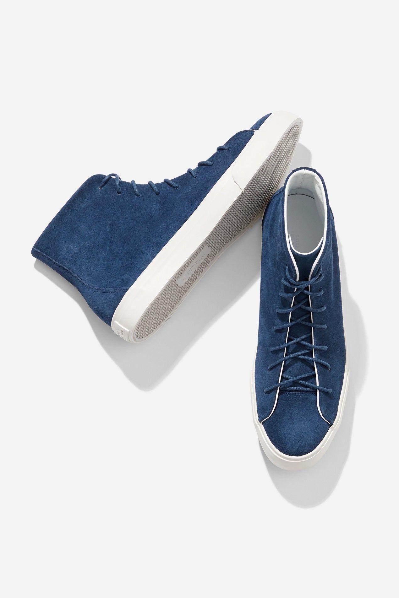338d5e6e9ff Saturdays Nyc Mike High Suede Sneaker Cobalt - 8.5 in 2019 ...