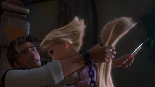 Note conflict Psalm 129:2-4 and Rapunzel