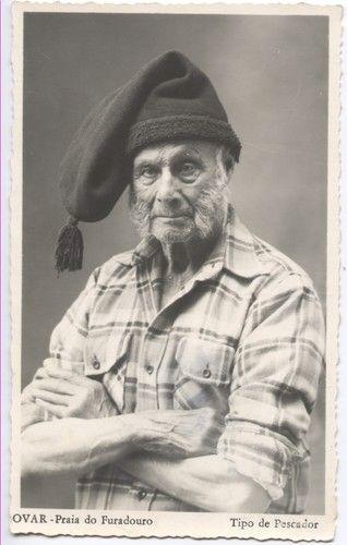 Vintage postcard of a Portuguese Fishermen, Aveiro ...