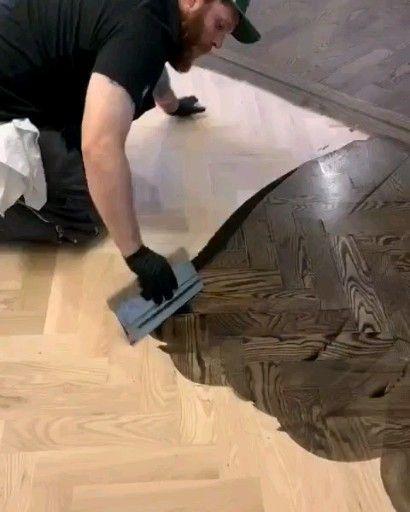 Colpron Custom Floors Llc Projekte In 2020 Wood Floor Stain Colors Diy Wood Floors Hardwood Floor Stain Colors