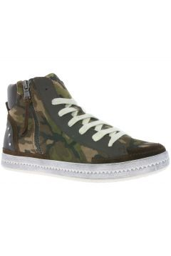 Damen Sneaker Top Geox Printed High D Schuhe Braun Suede Modesty A Tw6qgY1