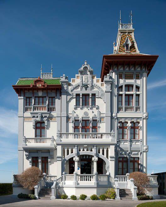El pl cido verano de la marquesa asturiaspordescubrir casas indianas asturias pinterest - Casa de asturias madrid ...